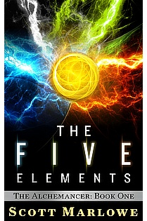 The Five Elements (The Alchemancer: Book One) ebook cover
