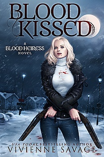 Blood Kissed ebook cover