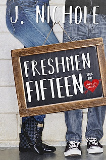 Freshmen Fifteen  ebook cover