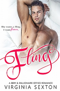 Fling: A BBW & Billionaire Office Romance ebook cover