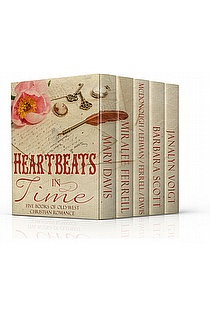 Heartbeats in Time: Five Novels of Old West Christian Romance ebook cover