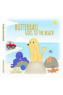 Butterball Goes to the Beach ebook cover