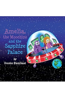 Amelia, the Moochins and the Sapphire Place ebook cover