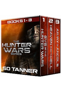 Hunter Wars Series (Books 1 - 3) ebook cover
